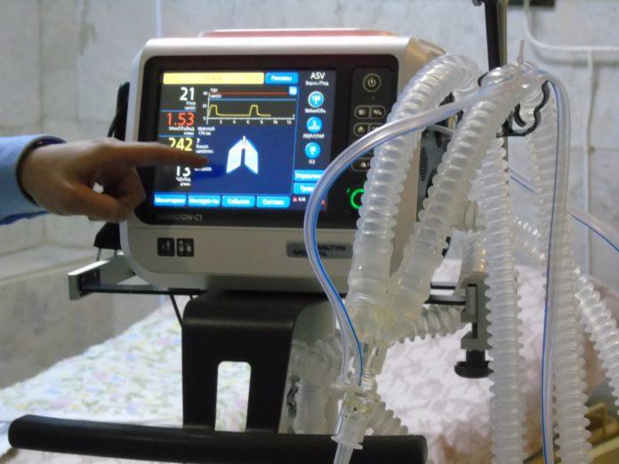 Апарат ШВЛ вже встановили в Малинській лікарні