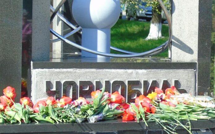 Пам'ятник Чорнобилю у Малині
